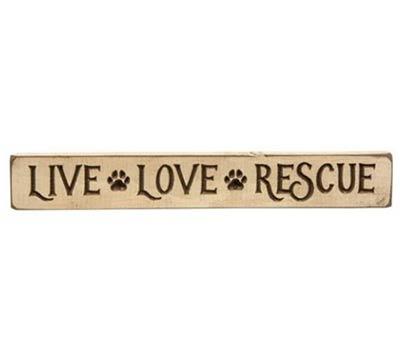 Live Love Rescue Shelf Sitter