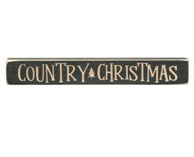 Country Christmas Shelf Sitter