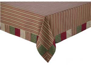 Merry Christmas Tablecloth, 54 x 54 inch