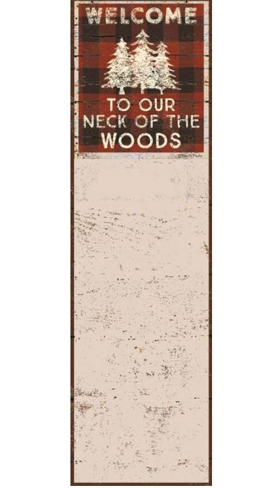 Our Neck of the Woods List Notepad