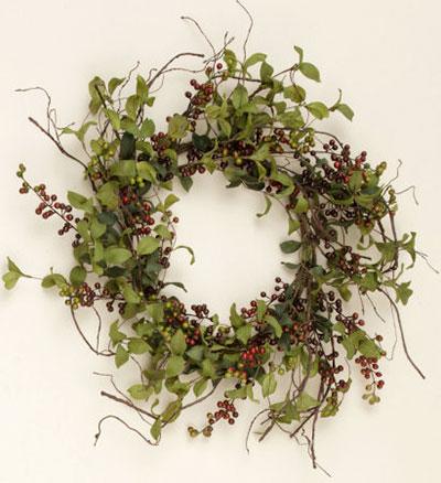Herbs & Berries Wreath