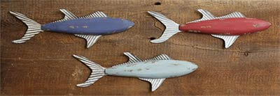 Fish Trio Wall Decor (Set of 3)