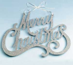 Wendy Addison Merry Christmas Sign