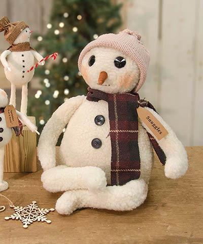 Winter Snuggles Snowman Doll