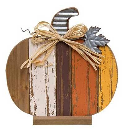Harvest Slat Pumpkin