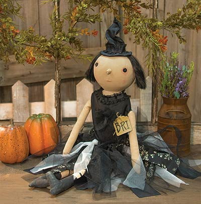 Primitive Halloween Party Doll