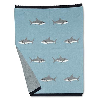 Shark Baby Throw Blanket