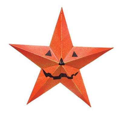 Halloween Barn Star - 24 inch