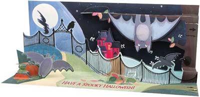 Forest Bats - Sight & Sound Pop-up Card
