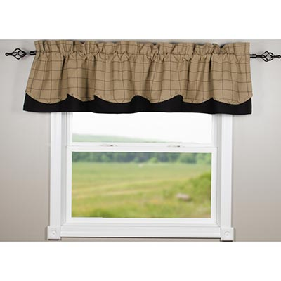 Alexander Check Fairfield Valance
