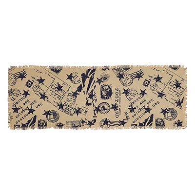 American Burlap Table Runner, 36 inch