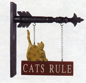 Cats Rule Arrow Replacement