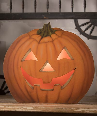 Pumpkin Dummy Board Luminary