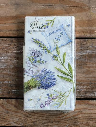 Lavander Paper Guest Towel