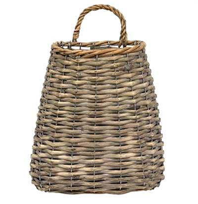 Graywash Hanging Basket