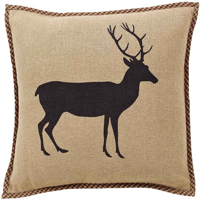 Barrington Deer Decorative Pillow