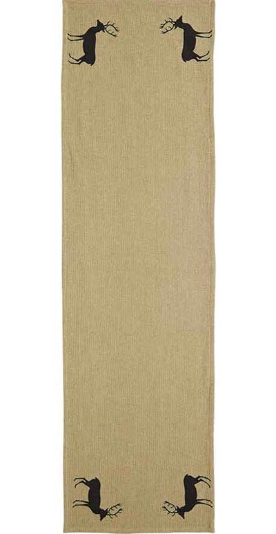 Barrington Table Runner - Burlap (48 inch)