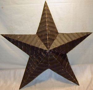 Amish Barn Star, 22 inch (Black)