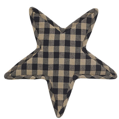 Black Star Trivet (Black and Tan)