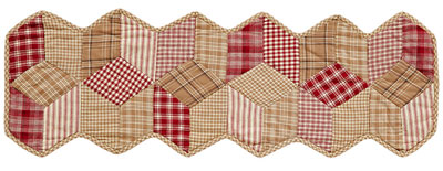 Breckenridge Table Runner - Quilted (36 inch)