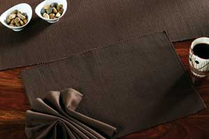 Brownstone Solid Placemat