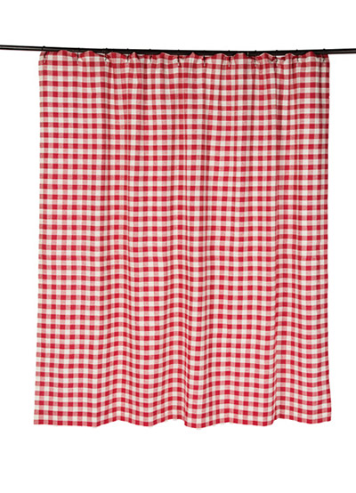 Buffalo Check Red Shower Curtain By Nancy 39 S Nook For Victorian Heart The Weed Patch
