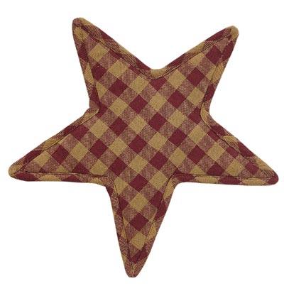 Burgundy Star Trivet