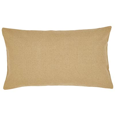 Burlap Natural Sham - Luxury Size