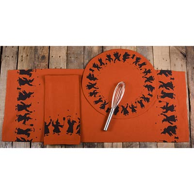 Making Magic Candle Mat