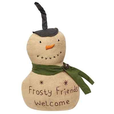 Frosty Friends Welcome Snowman