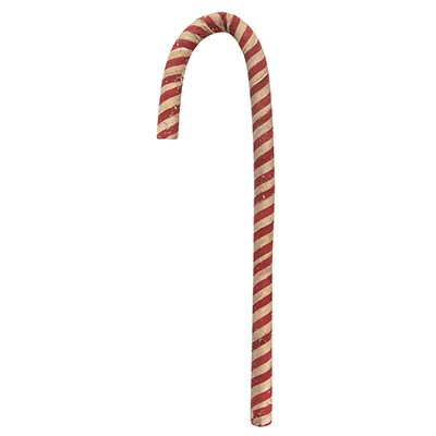 Antiqued 12 inch Candy Cane
