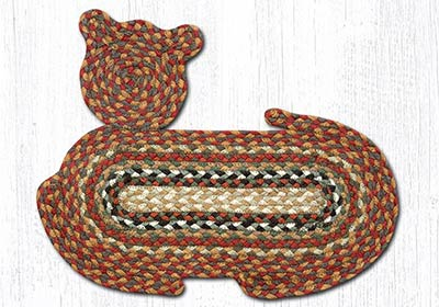 Honey, Vanilla, & Ginger Braided Cat Rug