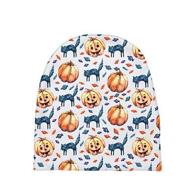 Cats & Jacks Halloween Baby Hat
