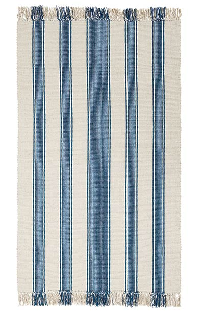 Charlotte Blue Rug (Special Order Sizes)