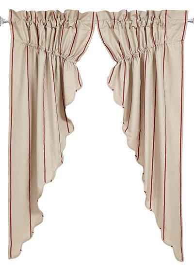 Charlotte Rouge Prairie Curtain (63 inch)