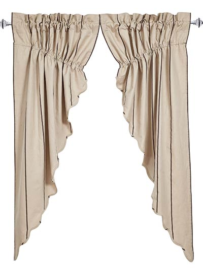 Charlotte Slate Prairie Curtain (63 inch)