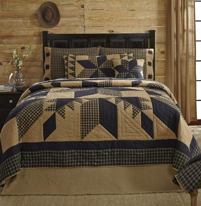 Dakota Star Quilt - King