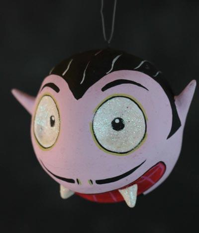 Spooky Kooks Ornament - Dracula