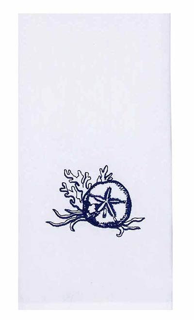 Sand Dollar Towels (Set of 2)