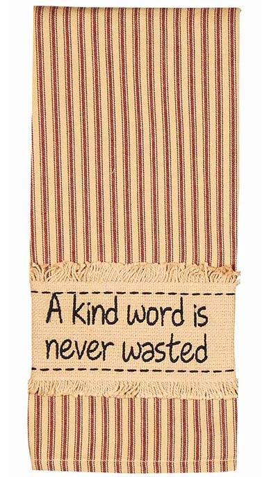 A Kind Word Towels (Set of 2)