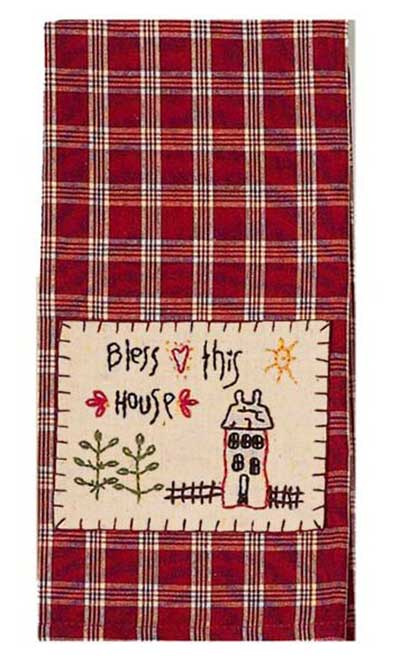 Bless This House Towels (Set of 2)