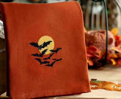 Happy Hallow Moon Towel