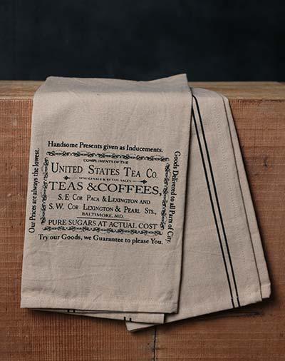 Teas & Coffees Towel