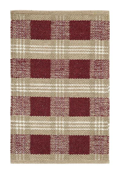 Everson Wool & Cotton Rug - 27 x 48 inch
