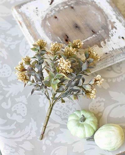 Cream Late Bloomer Floral Bush