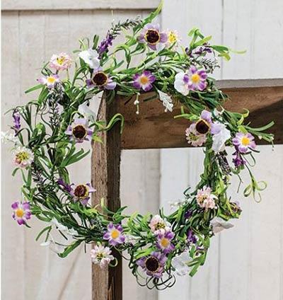 Lilac Garden 20 inch Wreath