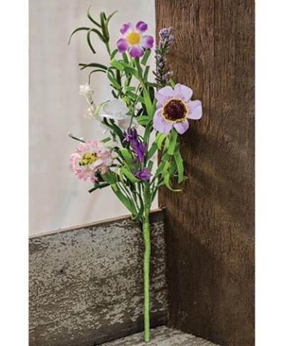 Lilac Garden Floral Pick
