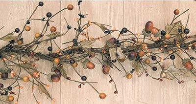 Harvest Acorn Garland