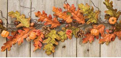 Harvest Oak Leaf Garland