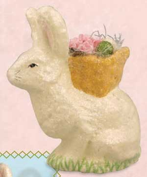 Seated Spring Bunny